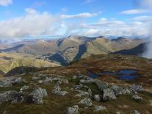 The Mamores from Carn Dearg (SW Top), Ben Nevis